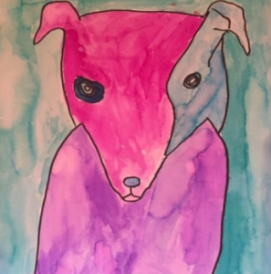 RareArtist 2015 Puppy Power Tegan Skye 9 yr Chordoma