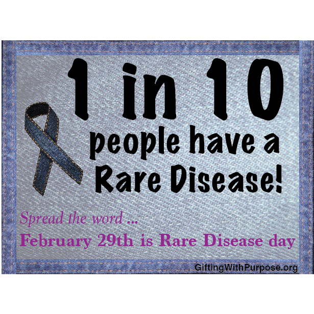 1 in 10 - February Rare Disease Month square