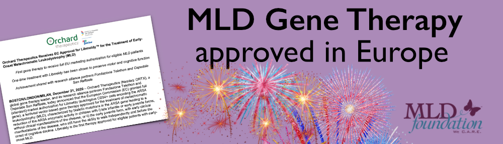 MLD gene therapy approved in Europe banner